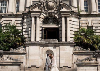 Stockport Town Hall Wedding Couple
