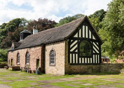 Chadkirk Chapel (outside view)