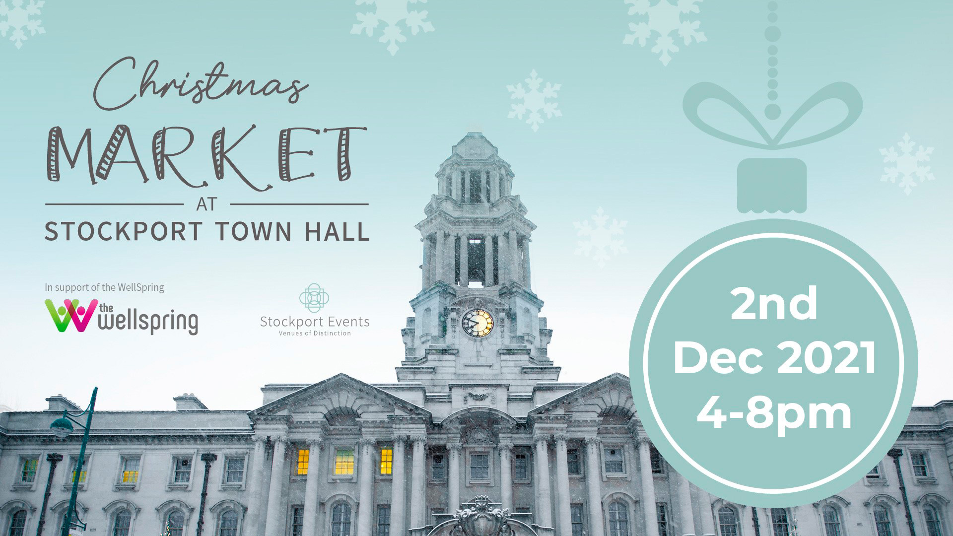 Christmas Markets at Stockport Town Hall